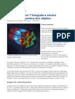 INOVAÇÃO TECNOLÓGICA (2020) Câmera de raios T fotografa e mostra composição química dos objetos [artigo]