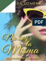 2- No Soy La Misma - Sandra Somera - Serie Chicas de Ciudad