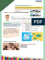 ACTIVIDAD DE CIENCIA Y TECNOLOGIA DEL 31 DE MAYO DEL 2021
