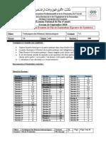 TRI 2 a Synthèse 2020 Eléments de Correction