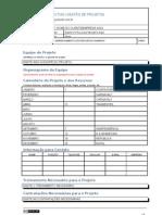 Modelo de Plano de Gerenciamento dos Recursos Humanos do Projeto
