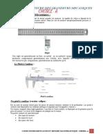Mesur Et instrument(Grandeur Mecanique)
