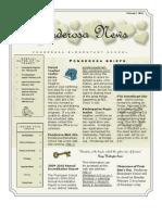 February 7th 2011 PES Newsletter