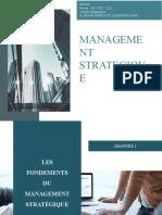 Chapitre 1-Management Strategique - Cours