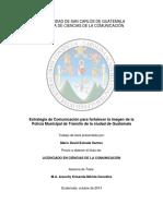 Estrategia de Comunicacion Pmt Guate