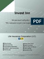 Invest Inn LIC, PAN, Postal Saving