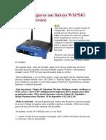 Como configurar um linksys WAP54G
