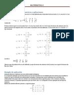 Ejemplo Del Producto de Matrices y Aplicaciones