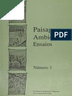 FAU-USP. Paisagem e Ambiente - Ensaios. Vol. 3