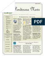 March 15 2011 PES Newsletter