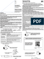 Linha MAXX S 220V - Manual de Instalação