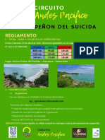 reglamento desafio Peñon del Suicida