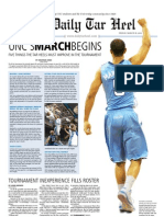 The Daily Tar Heel for March 18, 2011