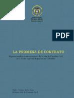 Algunos Estudios Contemporáneos Promesa de Contrato