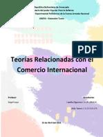 Teorias relacionadas con el comercio internacional