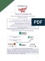 NI Label Vie