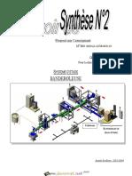 Devoir Corrigé de Synthèse N°2 - Génie mécanique Banderouleuse - Bac Technique (2013-2014) Mr Ben Abdallah Marouan (1)