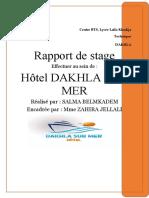 Rapport Salma Belmkadem