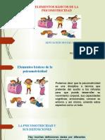 Elementos de La Psicomotricidad