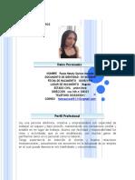 Hoja de Vida Paula Nataly Quiroz Morales