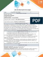 Anexo 2. Formato - descripción de cargos - Wendy