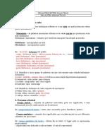Ficha Informativa e de Trabalho Relações Entre Palavras Com Soluções