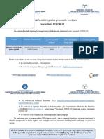 Broșura informativă pentru persoanele vaccinate 06.04.2021 actualizata
