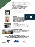 Detroit Audubon Society Conf Flyer 2011 Rev