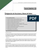 Teoría 12 Práctica 12 Asignación de Secciones y Bases de Datos