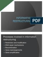 Information Restructuring
