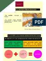 1- ACCION, ETAPAS DEL PROCESO Y PRESUPUESTOS PROCESALES (1)