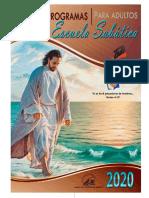 programas ESCUELA SABATTICA 2020