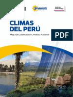 Mapa Climático Perú 2021