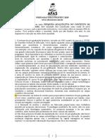 2o Simulado Referente Ao Texto Pesquisa Qualitativa No Contexto Da Educacao No Brasil