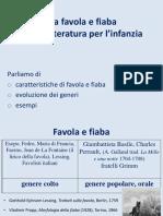 3 FAVOLE E FIABE NELLA LETTERATURA PER LINFANZIA