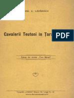 Lazarescu Teutonii in Tara Barsei