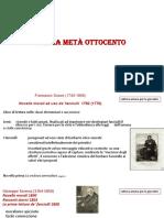 7 A PRIMA META DELLOTTOCENTO