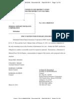 Defendant FDIC Motion for Summary Judgment Plaintiff McKinley (Lawsuit #2)