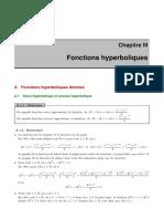 3. CH III  Fonction hyperbolique