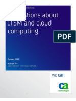 clouding computing and ITSM