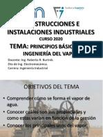 Principios básicos de la utilizacion de vapor