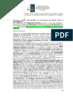 Escritura Pública Declaratória de Localização do imóvel rural