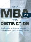 MBA with distinction