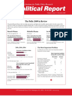 Political Report December 2010