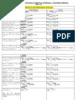 01- Résumé Sur Les Vecteurs - Tableaux à Une Dimension