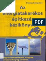 Az Energiatakarekos Epitkezes Kezikonyve
