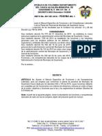 Funciones de Cargo Alcaldia de Guachene