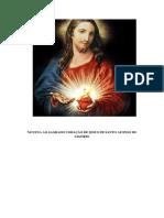NOVENA AO SAGRADO CORAÇÃO DE JESUS DE SANTO AFONSO DE LIGÓRIO