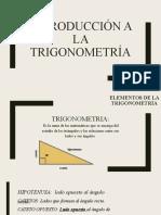 Introducción a Trigonometría