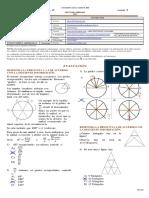 8.5 Geometría 8° - Taller 5 - Evaluación I - 2021